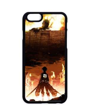 Coque Attack On Titan Eren X Colossan Titan