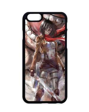 Coque Attack On Titan Mikasa Vs Titan