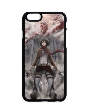 Coque Attack On Titan Mikasa X Colossan Titan