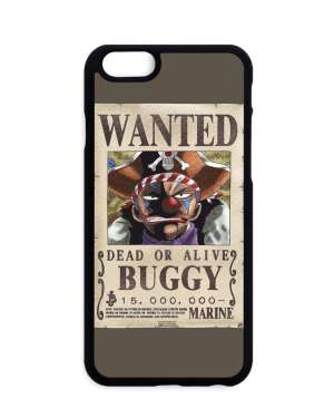 Coque One Piece Buggy Wanted