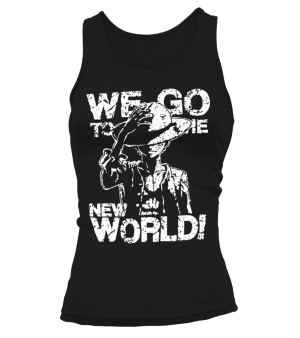 Débardeur Femme One Piece We Go To The New World
