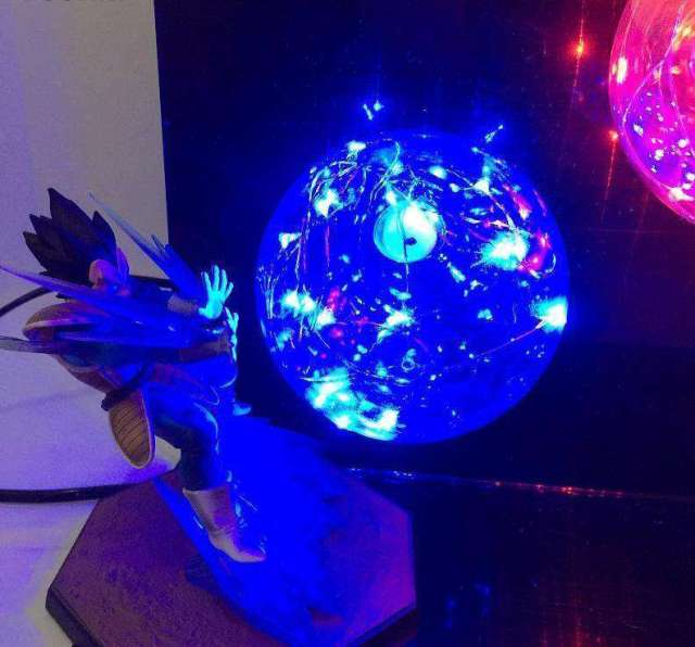 Lampe Dragon Ball Z Goku Vs Vegeta