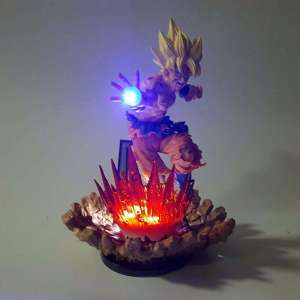 Lampe Led Dragon Ball Z Goku Super Saiyan