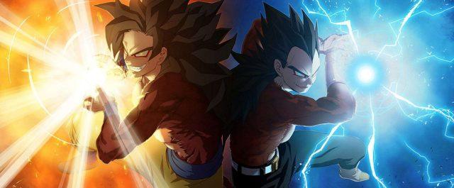 Mug Dragon Ball GT Goku X Vegeta