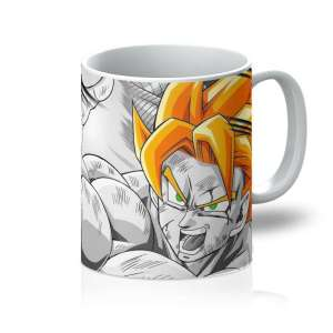 Mug Dragon Ball Z Goku SSJ Attack