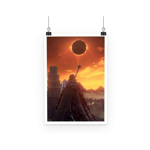 Poster Berserk Guts Black Moon
