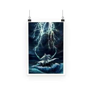 Poster Bleach Ukitake Storm