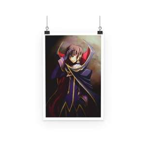 Poster Code Geass Lelouch