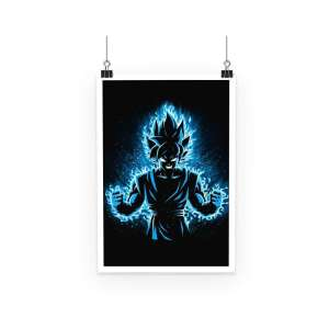 Poster Dragon Ball Super Goku Energy