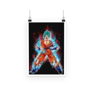 Poster Dragon Ball Super Goku Kaioken