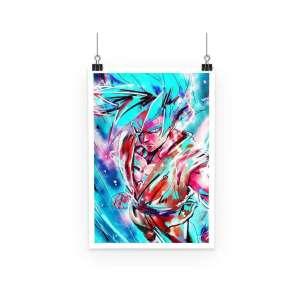 Poster Dragon Ball Super Goku SSJ Blue God