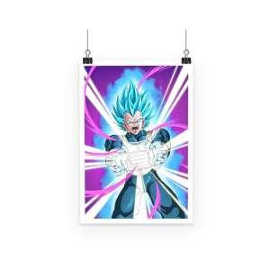 Poster Dragon Ball Super Vegeta Attack