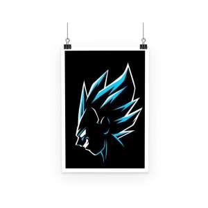 Poster Dragon Ball Super Vegeta Power