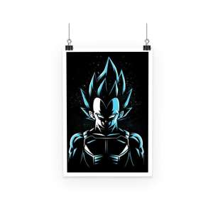 Poster Dragon Ball Super Vegeta Super Saiyan God