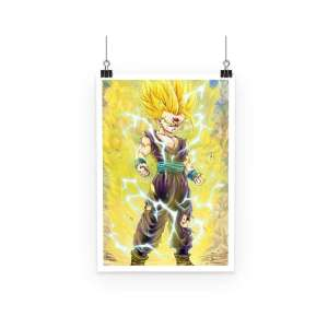 Poster Dragon Ball Z Gohan SSJ 2 Collector