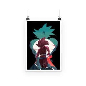 Poster Dragon Ball Z Goku Evolution