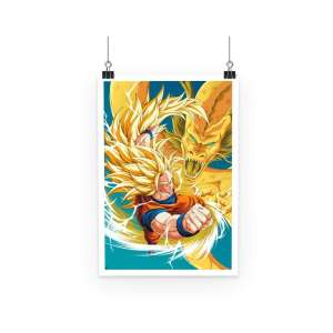 Poster Dragon Ball Z Goku SSJ 3