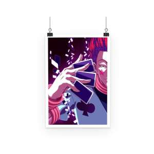 Poster Hunter X Hunter Hisoka Cards