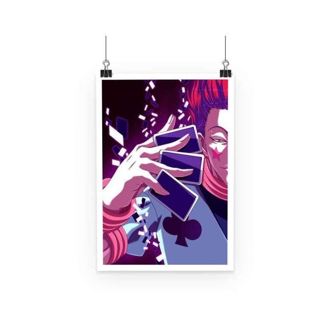 Poster Hunter X Hunter Hisoka Cards