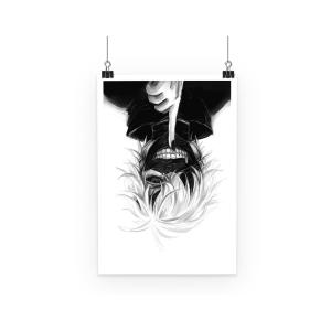 Poster Tokyo Ghoul Kaneki Silence