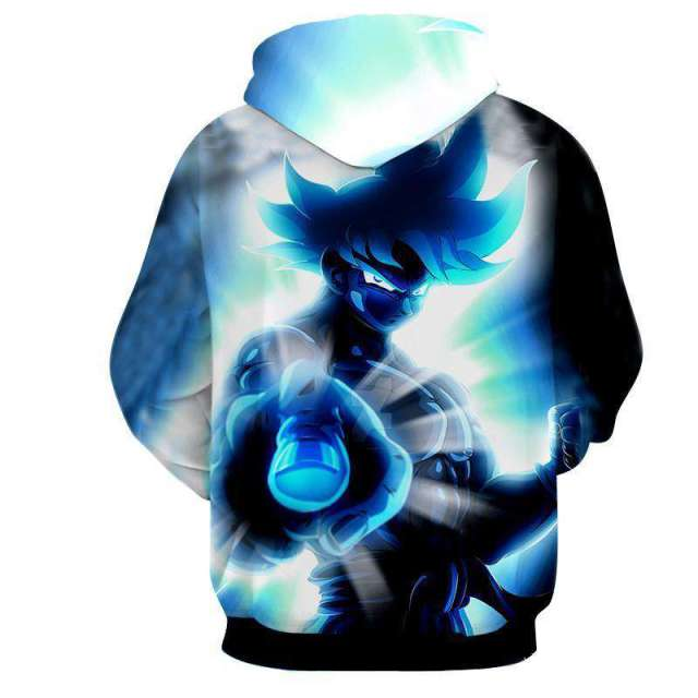 Pull à capuche 3D All Over Dragon Ball Z Goku Full Power