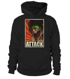 Pull à capuche Attack Of Titans Eren Titan