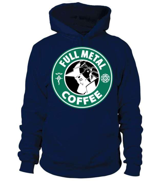 Pull à capuche Full Metal Alchemist Coffee