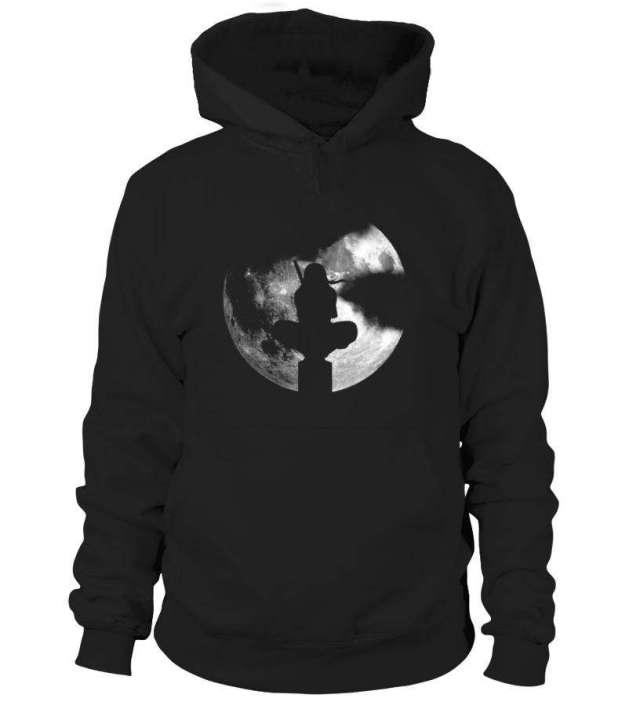 Pull à capuche Naruto Itachi Moon 2