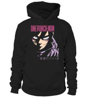 Pull à capuche One Punch Man Sonic