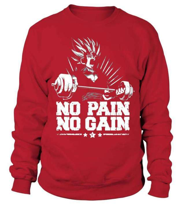Sweat Classique Dragon Ball Z No Pain No Gain