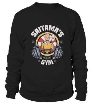 Sweat Classique One Punch Man Saitama Gym