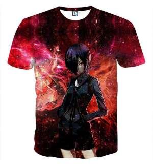T Shirt 3D All Over Tokyo Ghoul Touka Destiny