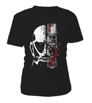 T Shirt Femme Attack On Titans Colossal Titan
