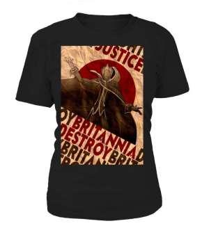 T Shirt Femme Code Geass Lelouch Justice