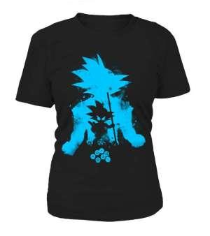 T Shirt Femme Dragon Ball Z Goku Evolution 2