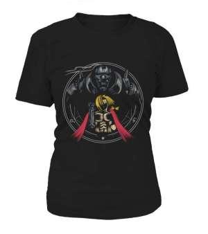 T Shirt Femme Full Metal Alchemist Edward X Alfonse