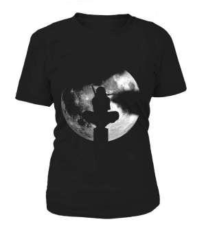T Shirt Femme Naruto Itachi Moon 2