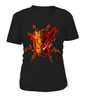 T Shirt Femme Naruto Vs Kyubi