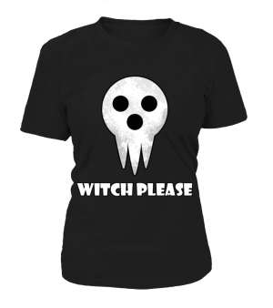 T Shirt Femme Soul Eater Witch Please
