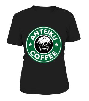 T Shirt Femme Tokyo Ghoul Anteiku Coffee