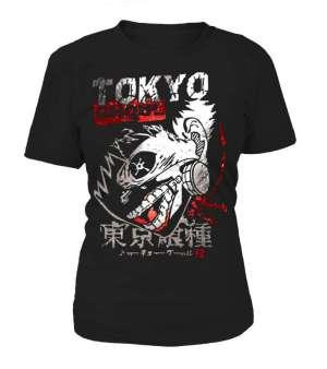 T Shirt Femme Tokyo Ghoul Insane kaneki