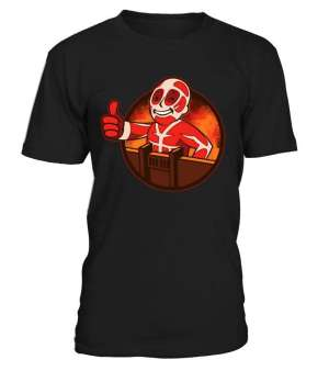 T Shirt Attack On Titans Fallout Titan