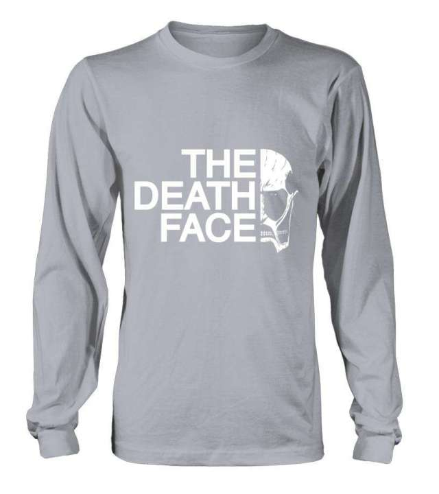 T Shirt Attack On Titans The Death Face