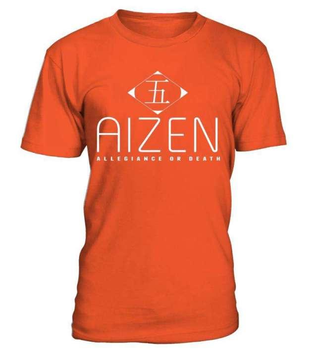 T Shirt Bleach Aizen Allegiance