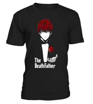 T Shirt Death Note Light The DeathFather