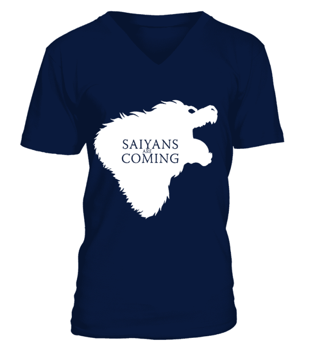 T Shirt Dragon Ball Z Saiyans Are Coming
