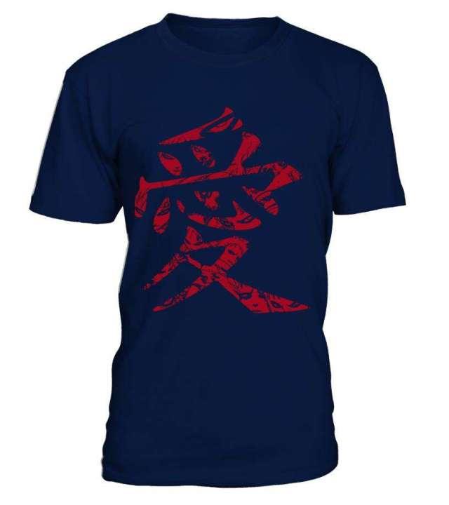 T Shirt Naruto Gaara Symbôle