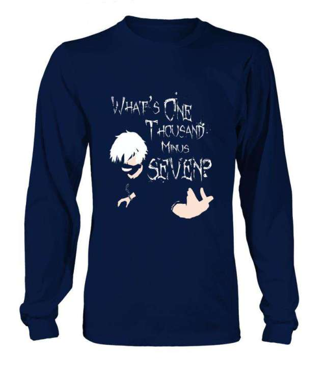 T Shirt Tokyo Ghoul Kaneki One Thousand Minus Seven