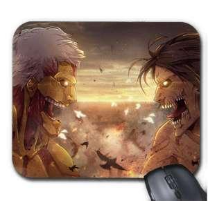 Tapis de Souris Attack On Titan Eren Titan Fight
