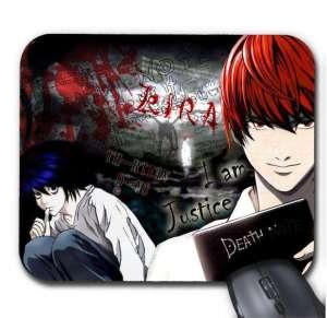 Tapis de Souris Death Note Kira Vs L